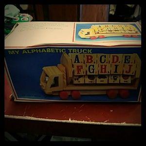 Classic Vintage MY ALPHABETIC TRUCK